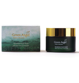 Green Angel - Pure & Organic Seaweed Face Mask with Aloe Vera & Avocado - 50ml