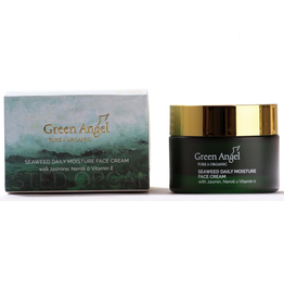 Green Angel - Pure & Organic Seaweed Daily Moisture Face Cream with Jasmine, Neroli & Vitamin E - 50ml