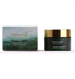 Green Angel - Pure & Organic Seaweed Hand Cream with Vitamin E & Neroli - 50ml