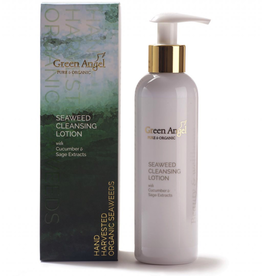 Green Angel - Pure & Organic Seaweed Cleansing Lotion with Cucumber & Sage Extracts - 200ml