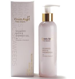 Green Angel - Pure & Organic Seaweed Bath & Shower Gel with Lavender & Mandarin - 200ml