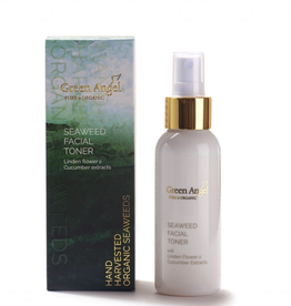 Green Angel - Pure & Organic Seaweed Facial Toner with Linden Flower & Cucumber Extracts - 100ml