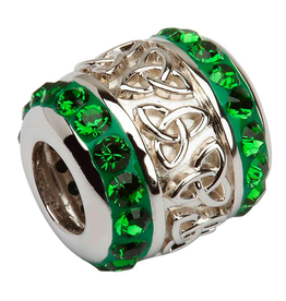 S/S Swarovski Trinity Knot Bead