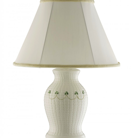 Belleek Classic Braid Lamp & Shade