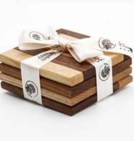 Caulfield Country Boards Wooden Coasters (Set of 4)