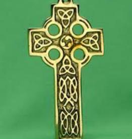 X-Small Brass Celtic Cross