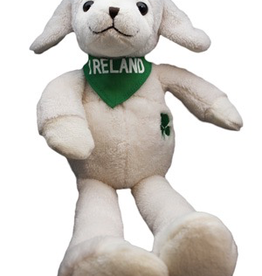 Cuddly Irish Sheep with Long Legs