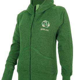 Ireland Triskele Yarn Dye Hoodie