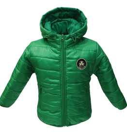 Ireland Shamrock Puff Jacket