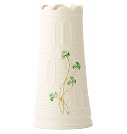 Belleek Castle Vase 7.7""