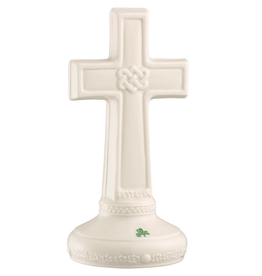 Belleek Celtic Love Knot Standing Cross 2020 Edition Piece