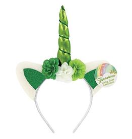 DM Merchandising Lucky Shamricorn Headband