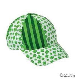 Shamrock Print Baseball Cap
