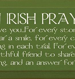 Sawdust City Wholesale An Irish Prayer 7x18 in.