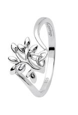 S/S Tree of Life Trinity Knot Ring