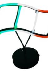 Neon Irish Flag Light