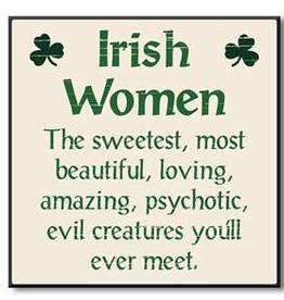 """My Word! Irish Women... - 6""""x6"""""""
