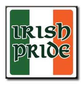 My Word! Irish Pride, 4x4 in.