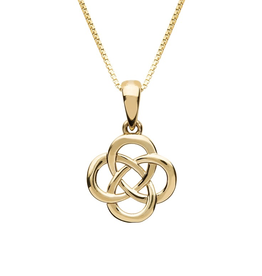 10K Gold Celtic Knot Necklace
