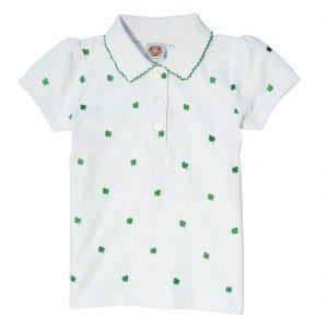 Kids Shamrock Polo Shirt