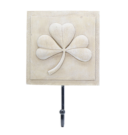 Shamrock Wall Plaque with Hook