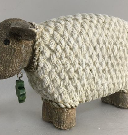 Sheep with Shamrock Charm