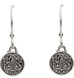 S/S Celtic Trinity Knot Earrings