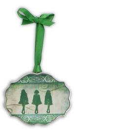 Dance Sing Love Irish Ornament