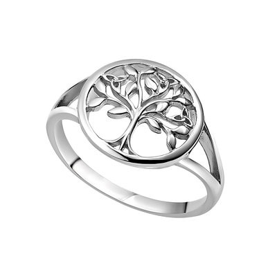 S/S Tree of Life Ring