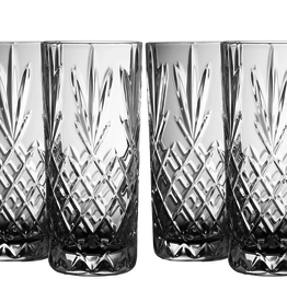 Galway Renmore Hi-Ball Glasses, Set of 4