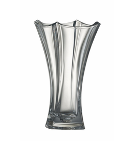 """Galway Crystal Dune 12"""" Waisted Vase"""