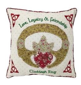 Claddagh Patchwork Pillow