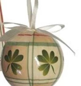 Shamrock Ball Ornament