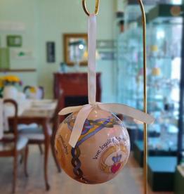 Celtic Claddagh Ball Ornament
