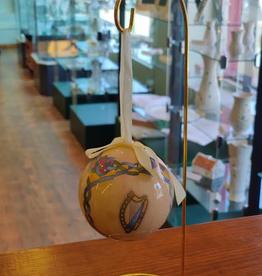 Celtic Harp Ball Ornament