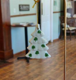 Ceramic Shamrock Christmas Tree Ornament