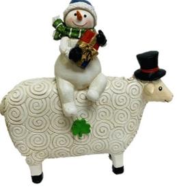 Irish Snowman & Sheep