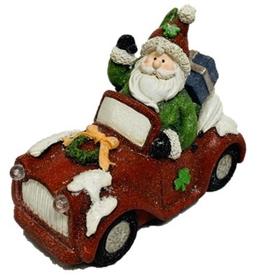 Irish Santa New Set of Wheels LED