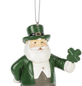 Ganz USA LLC Irish Santa Ornament