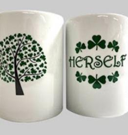 Herself Shamrock Coffee Mug