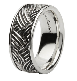 S/S Celtic Wave Band Ring