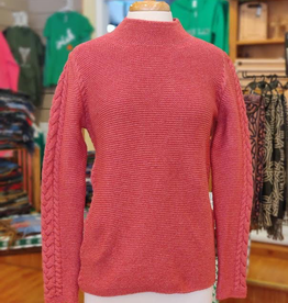 'Rathgar' Cable Funnel Neck Sweater