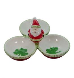 Irish Santa Snack Serving Dish