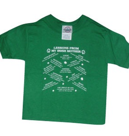 'Lessons From My Irish Mother' T-Shirt