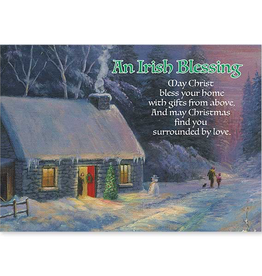 The Printery House Irish Blessing Christmas Card (Boxed Set of 18)