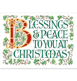 The Printery House Irish Christmas Card (Boxed Set of 18)
