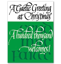The Printery House A Gaelic Greeting at Christmas Card (Boxed Set of 20)