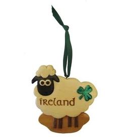 Irish Sheep Ornament