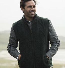 Aran Woollen Mills Unlimited Men's Lined Body Warmer Vest