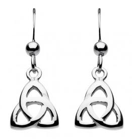 Kit Heath Ltd S/S Celtic Trinity Knot Drop Earrings